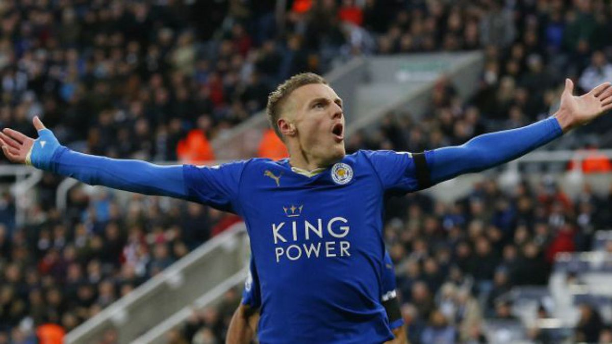 El fabuloso récord de Jamie Vardy que guió al modesto Leicester al liderato de la Liga Premier