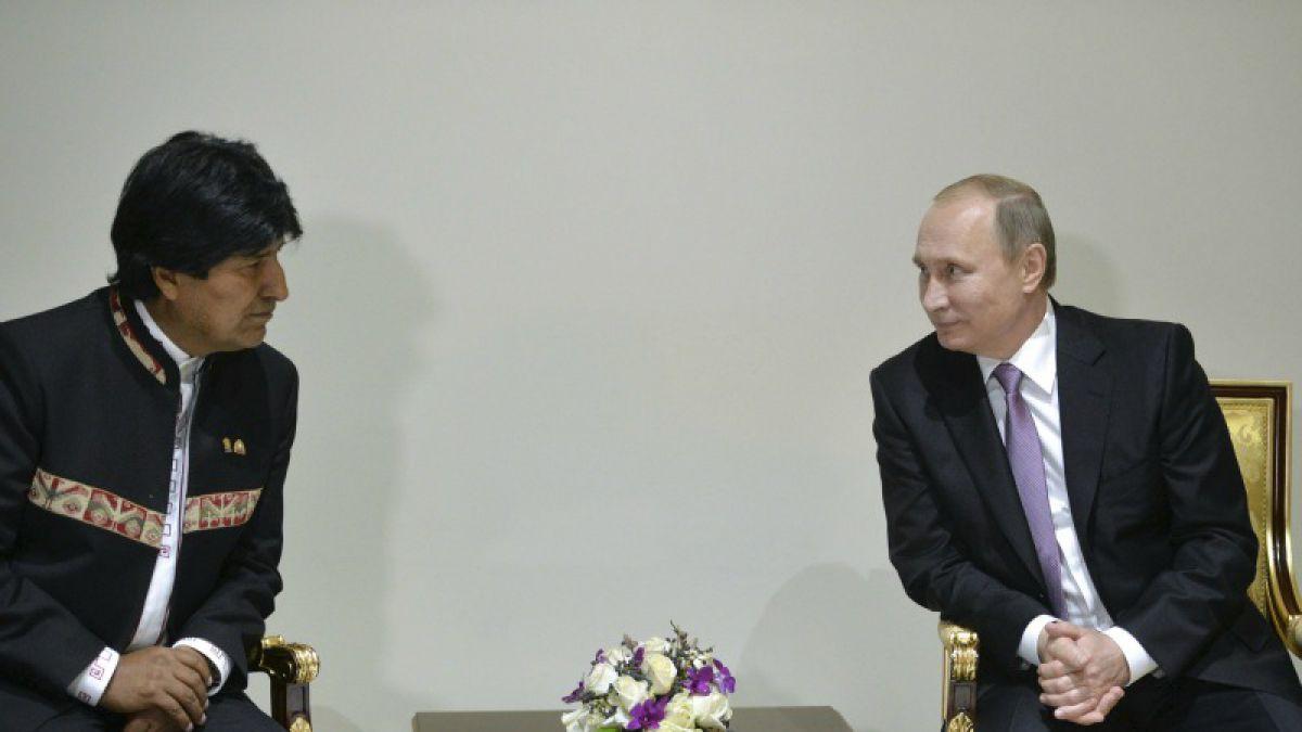 Canciller boliviano dice que Putin hablará con Chile sobre el mar si es que puede hacer algo