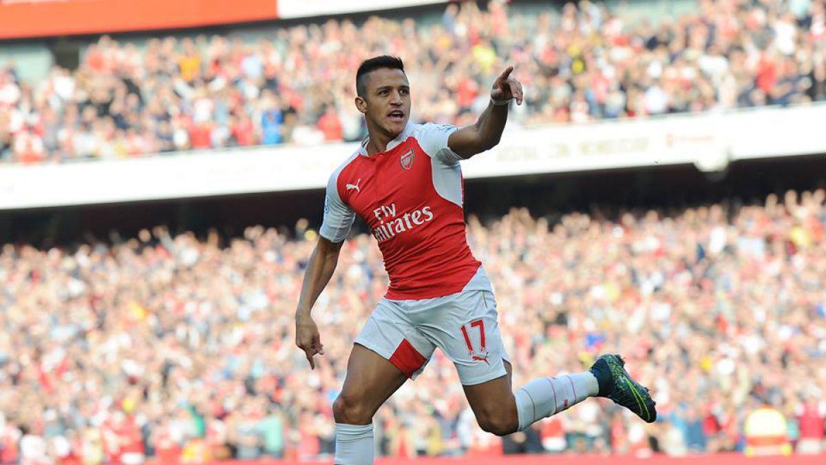 Prensa británica destaca nombramiento de Alexis como mejor jugador de Inglaterra