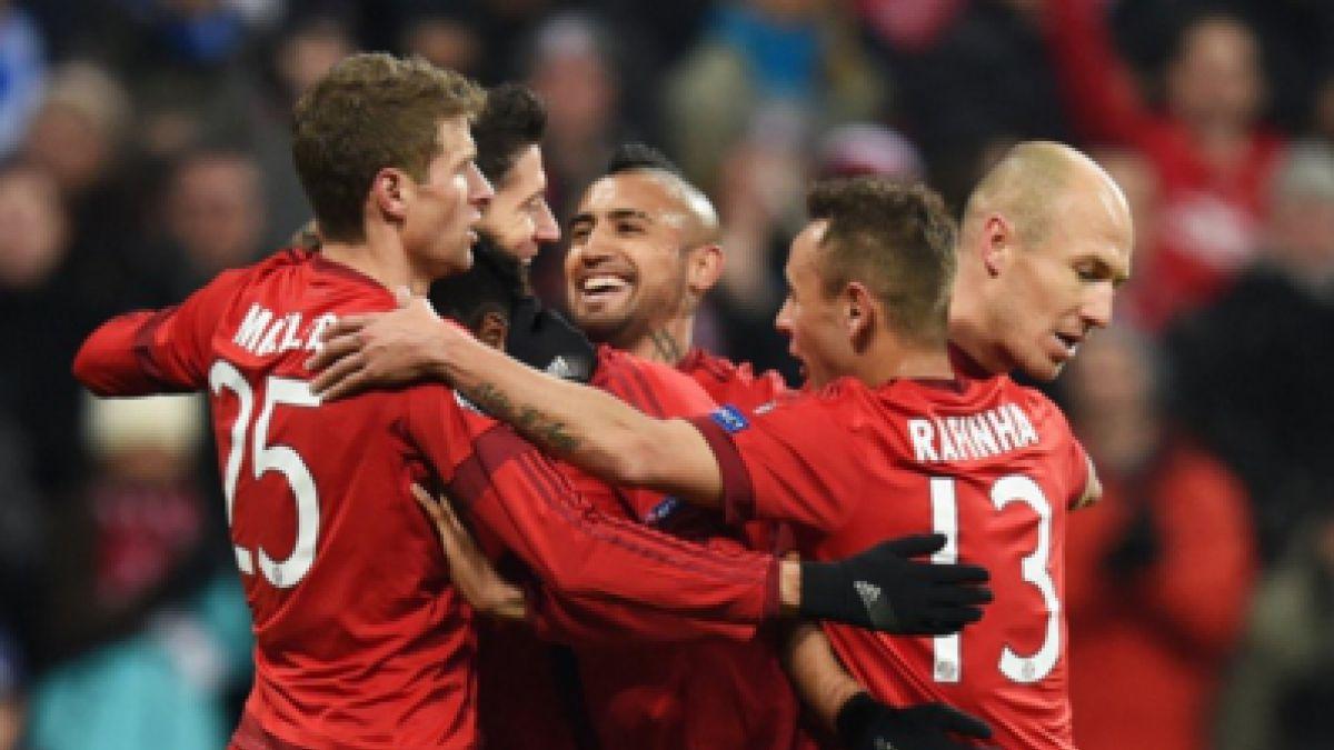 Vidal da su apoyo a Ribery que regresa a las convocatorias del Bayern tras 9 meses de ausencia