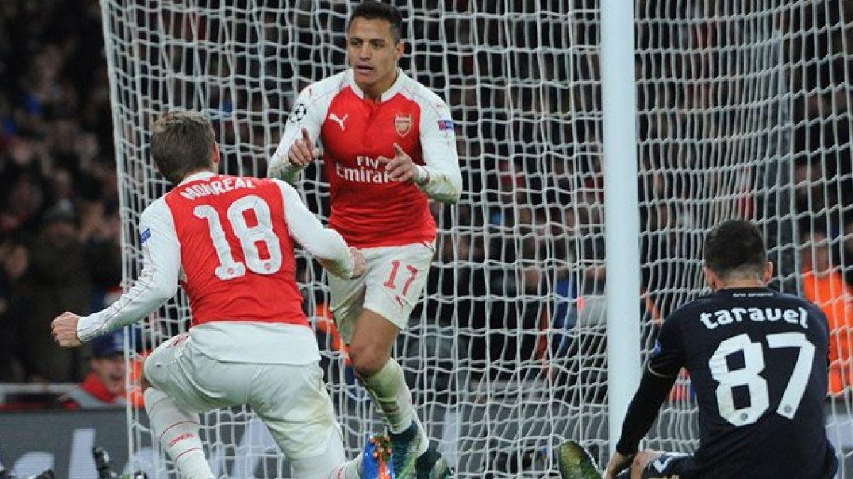 Así fue el sobresaliente show de Alexis por la Champions League
