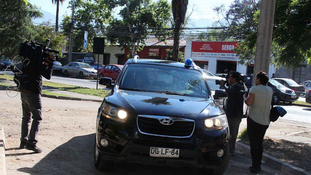 Michael Ríos está siendo formalizado por el delito de hurto agravado