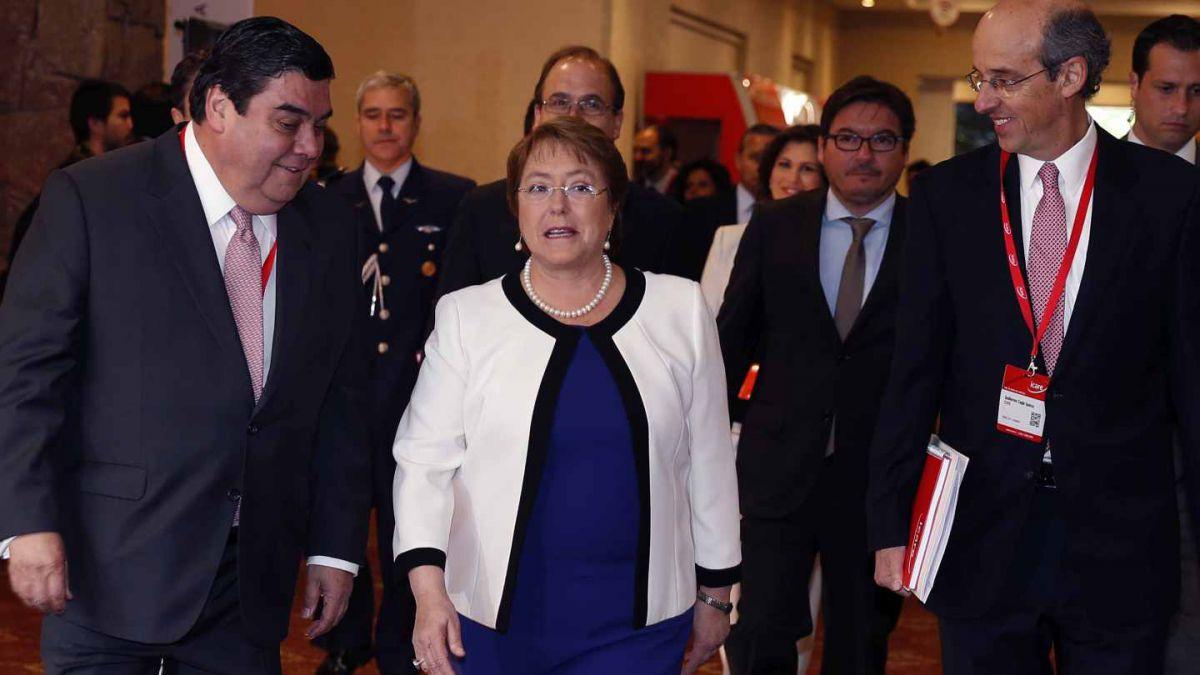 Bachelet en Enade 2015