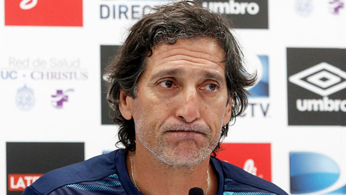 Salas confirma que Ríos se pierde duelo ante San Luis: No será citado por decisión técnica