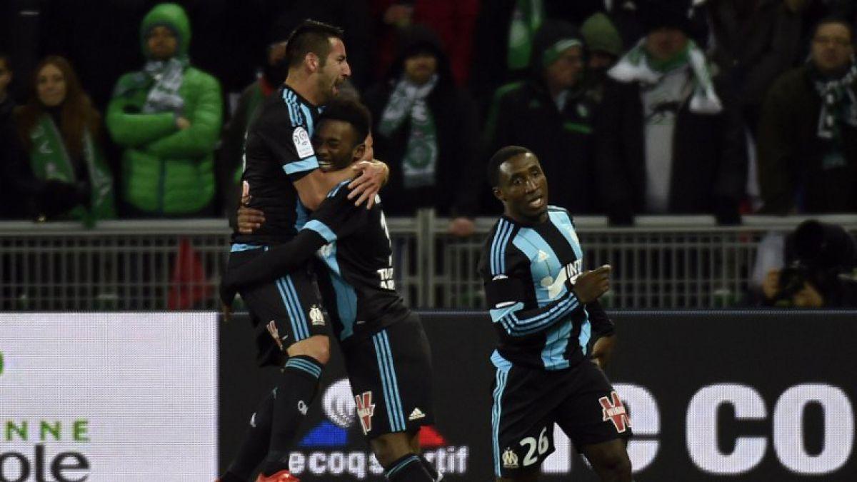 Isla fue titular en valioso triunfo del Olympique de Marsella en Europa League