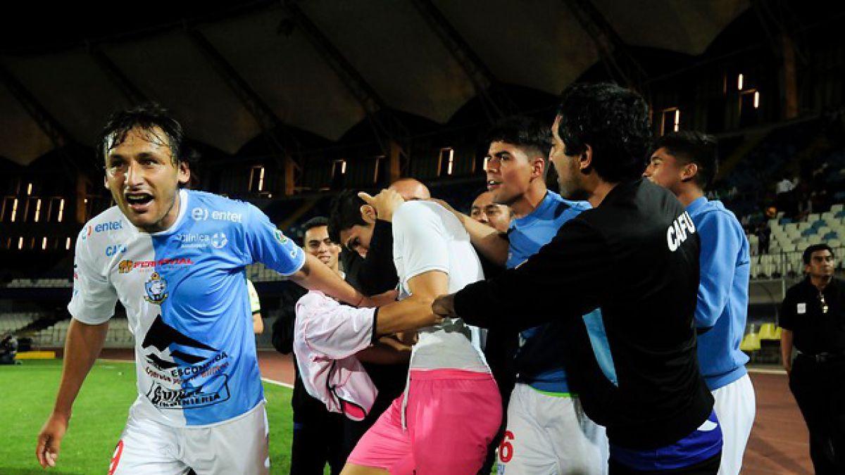 Con agónico gol de arquero Antofagasta logra valioso empate ante Wanderers