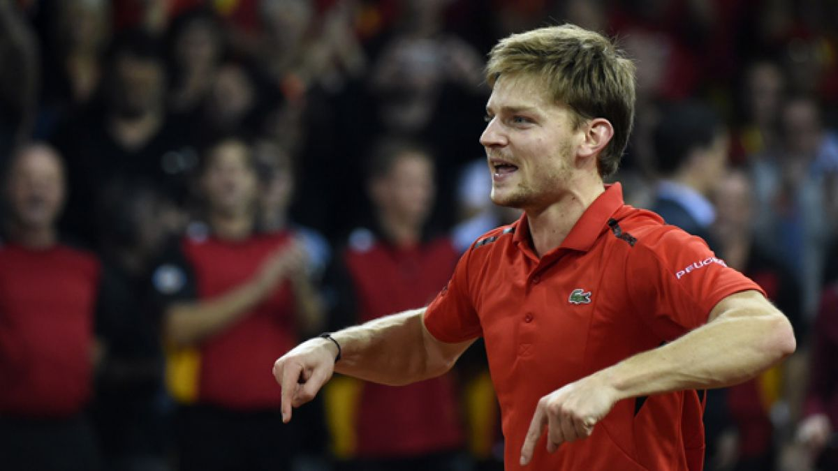 Goffin remonta a Edmund y Bélgica logra primer punto en la final de Copa Davis