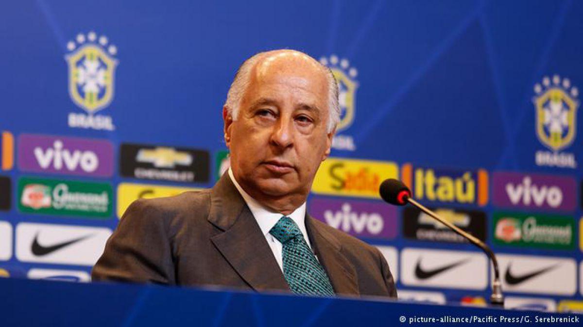 Presidente del fútbol brasileño deja cargo en la FIFA