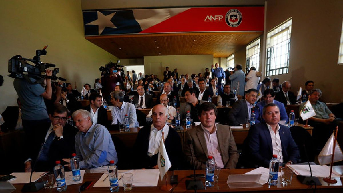 ANFP: Consejo de Presidentes aprueba distribución de dineros del CDF