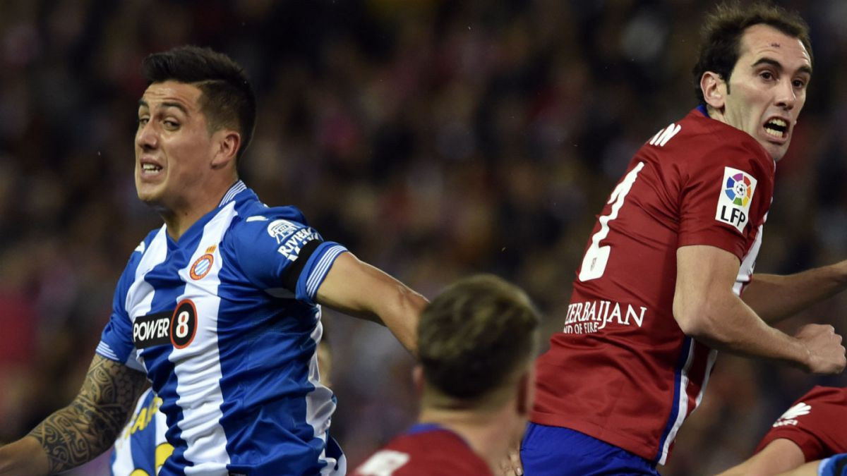 [VIDEO] Enzo Roco registra un grave error en el empate del Espanyol