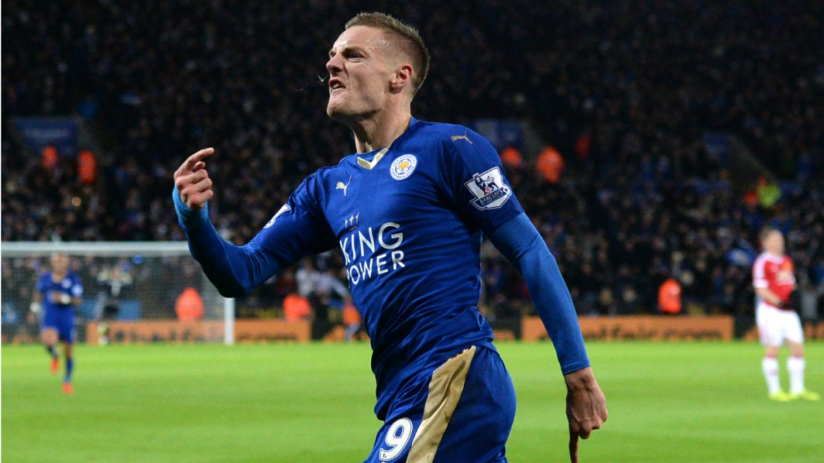Goleador del Leicester es elegido el mejor jugador del año en Inglaterra