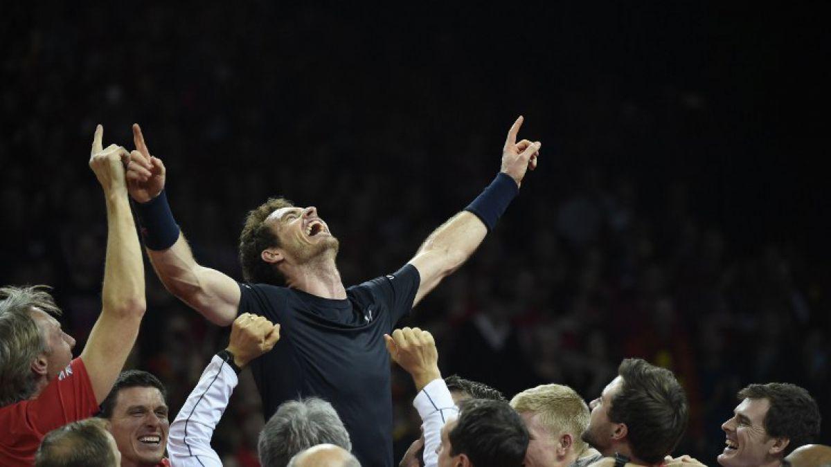 Gran Bretaña campeón de la Copa Davis después de 79 años