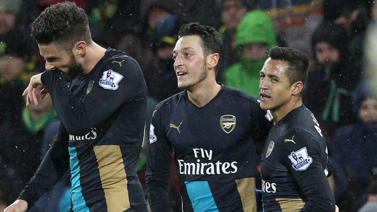 Alexis sale con molestias en empate del Arsenal que se aleja de la cima