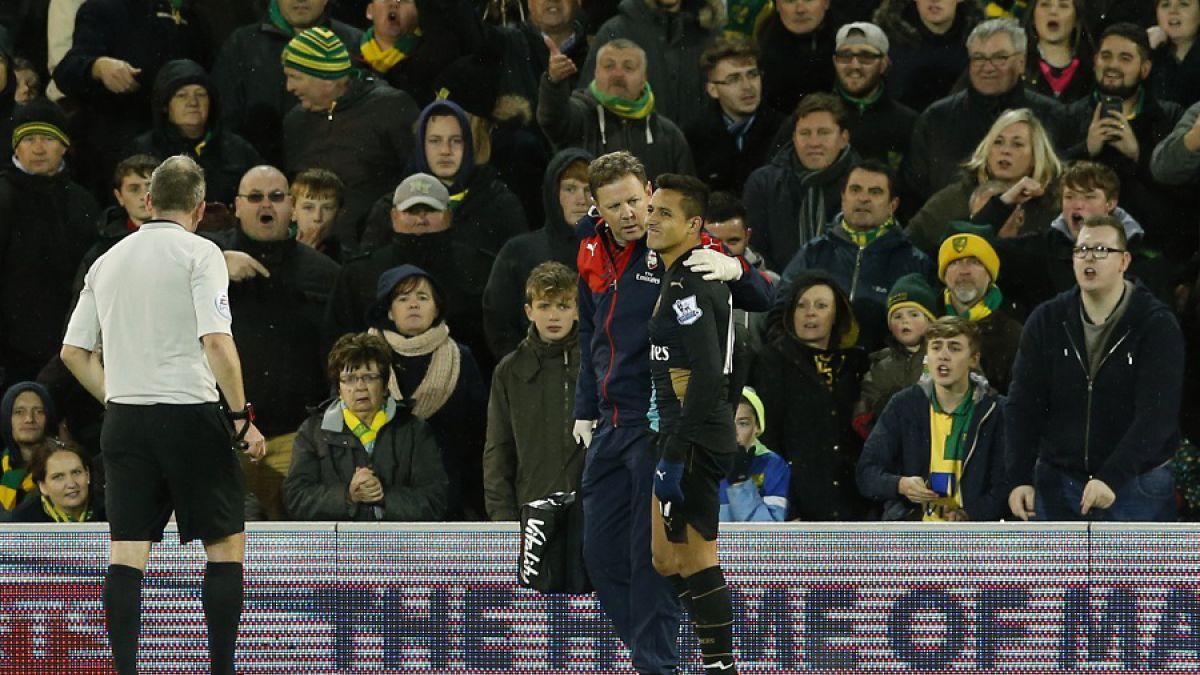 Thierry Henry culpa a DT Wegner por lesión de Alexis en el Arsenal