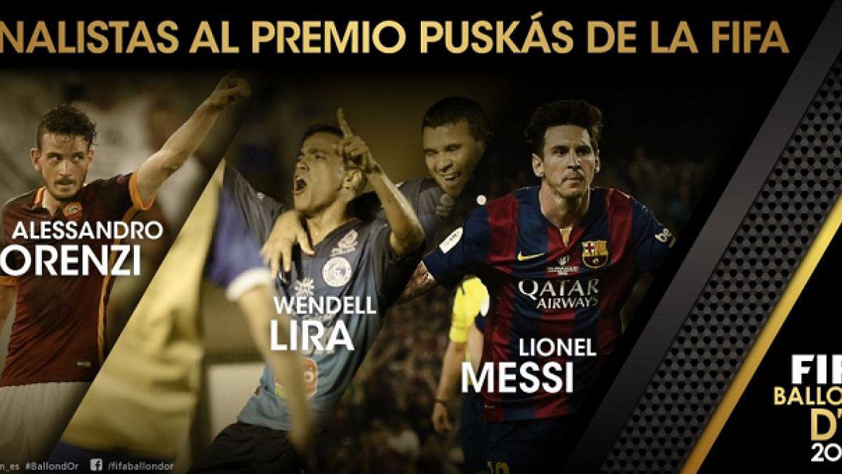 [VIDEO] Estos son los tres golazos del año que luchan por Premio Puskás