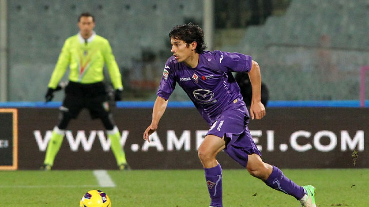 Matías Fernandez es suplente en igualdad de Fiorentina ante Sassuolo