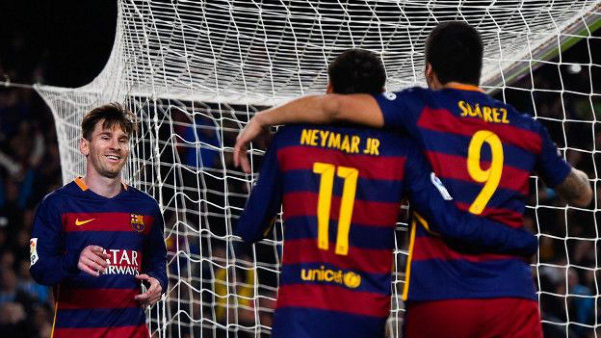 10 razones que conspiran contra la estabilidad del tridente Messi, Suárez, Neymar