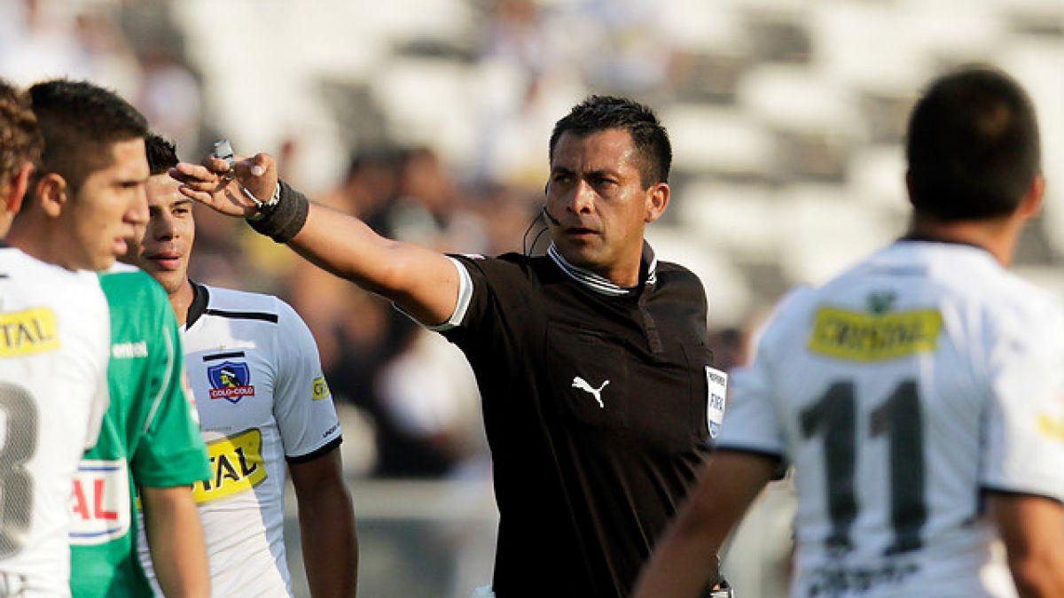 Juez Julio Bascuñán dirigirá la final Colo Colo-U en Copa Chile