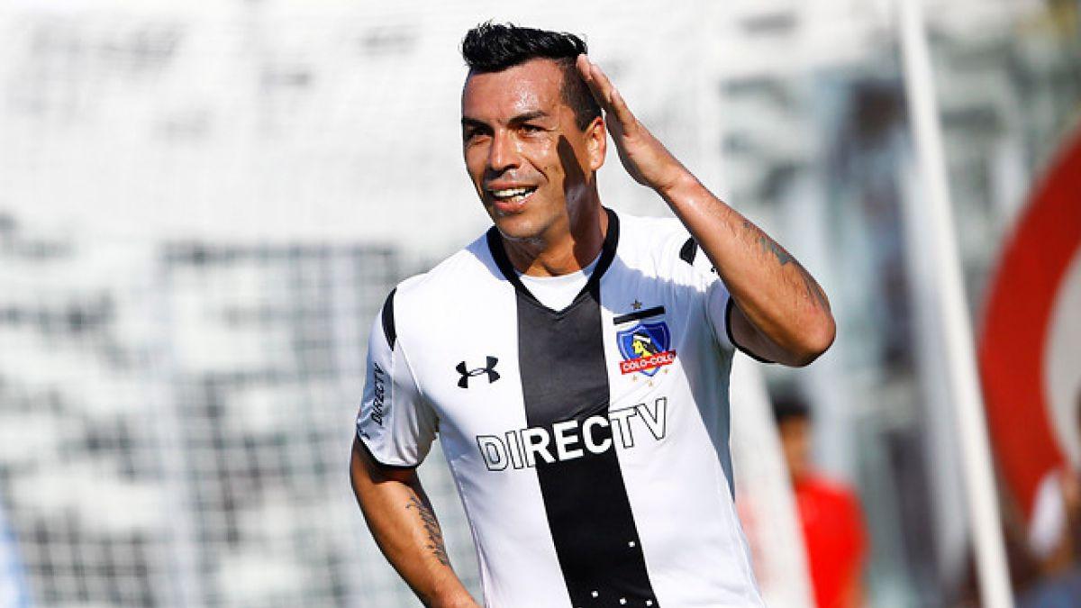 """Esteban Paredes y final de Copa Chile: """"Estos partidos se juegan con el corazón"""""""