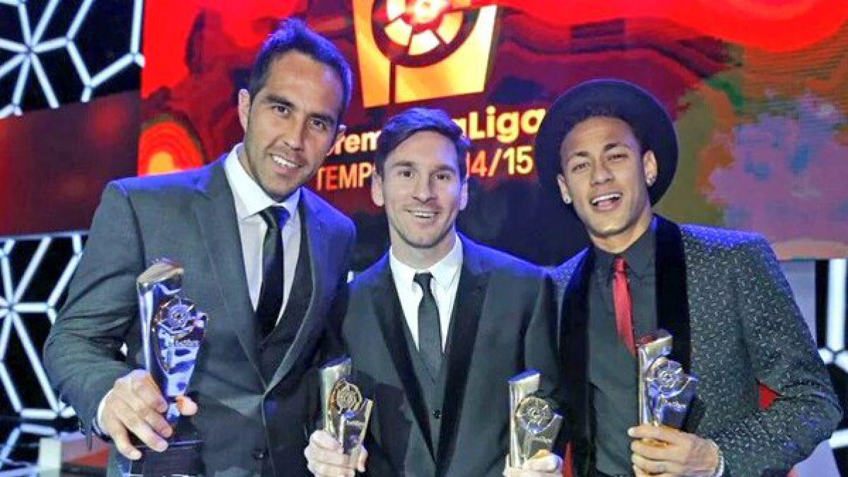 El video que molestó a Bravo en la premiación como Mejor Portero de la Liga española 2014-2015