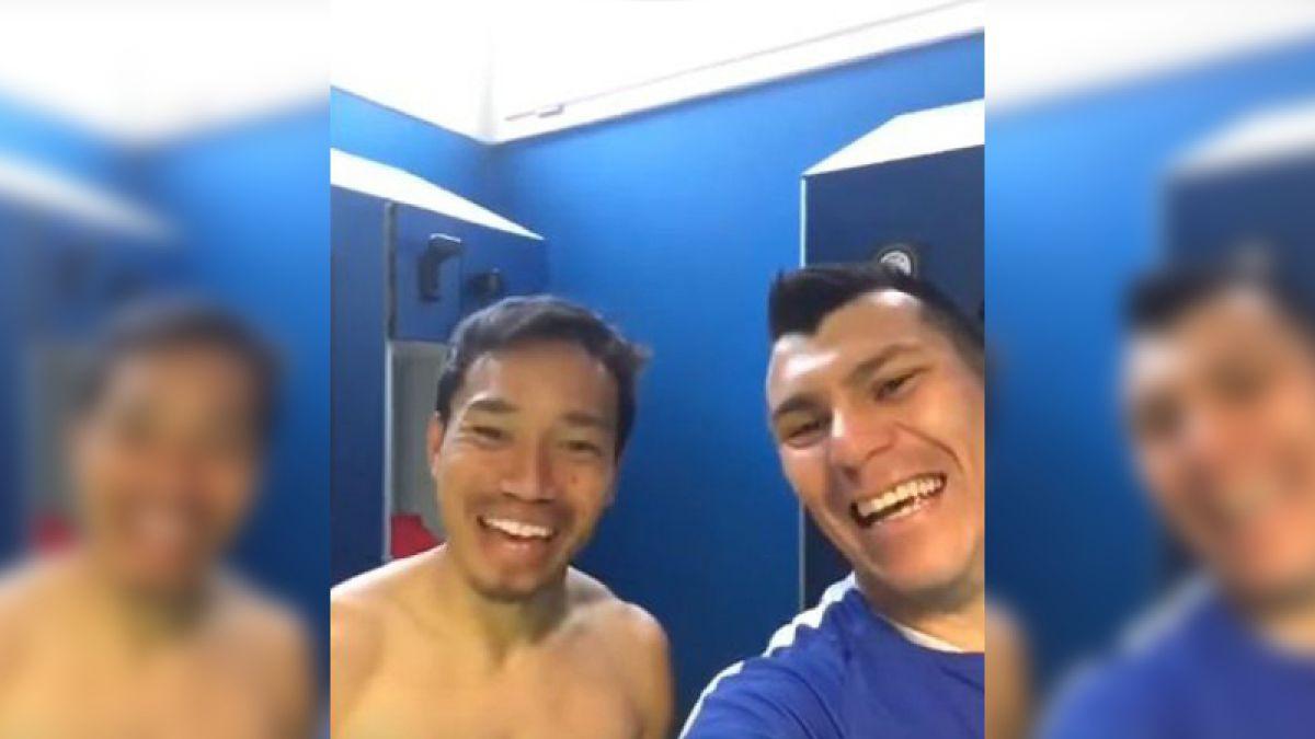 [VIDEO] El curioso saludo de Gary Medel y Yuto Nagatomo