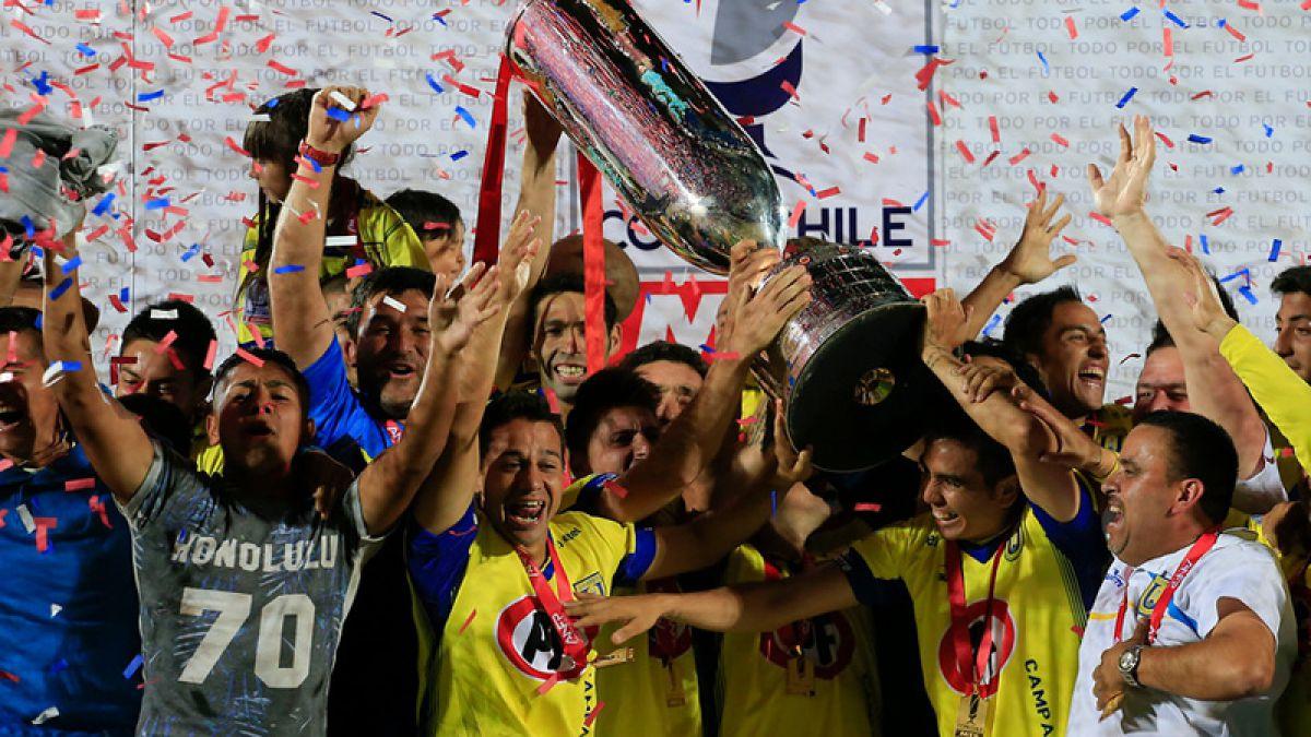 ¿Cuál es el equipo más campeón de la Copa Chile?