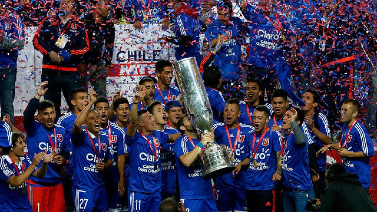 """La """"U"""" es campeón de la Copa Chile tras definición a penales con Colo Colo"""