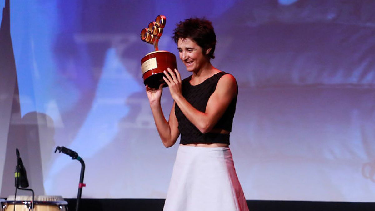 Bárbara Riveros fue elegida por el COCh como la Mejor Deportista del 2015