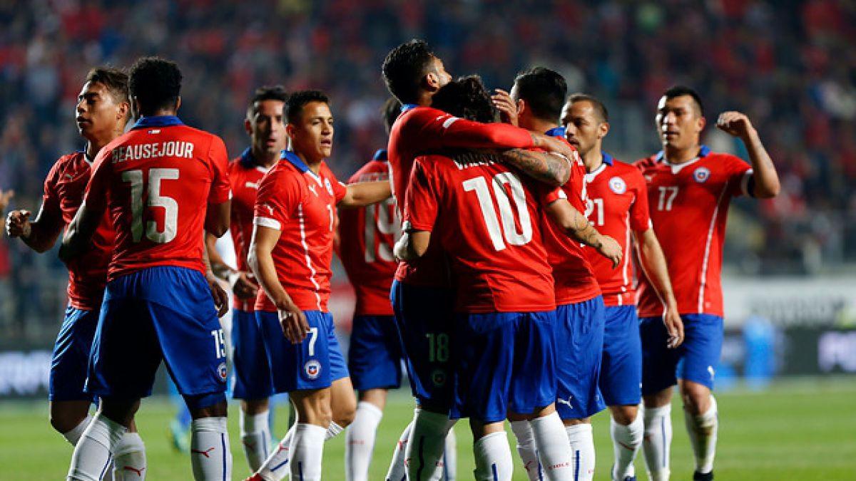 Chile mantiene su ranking FIFA y espera fechas clasificatorias