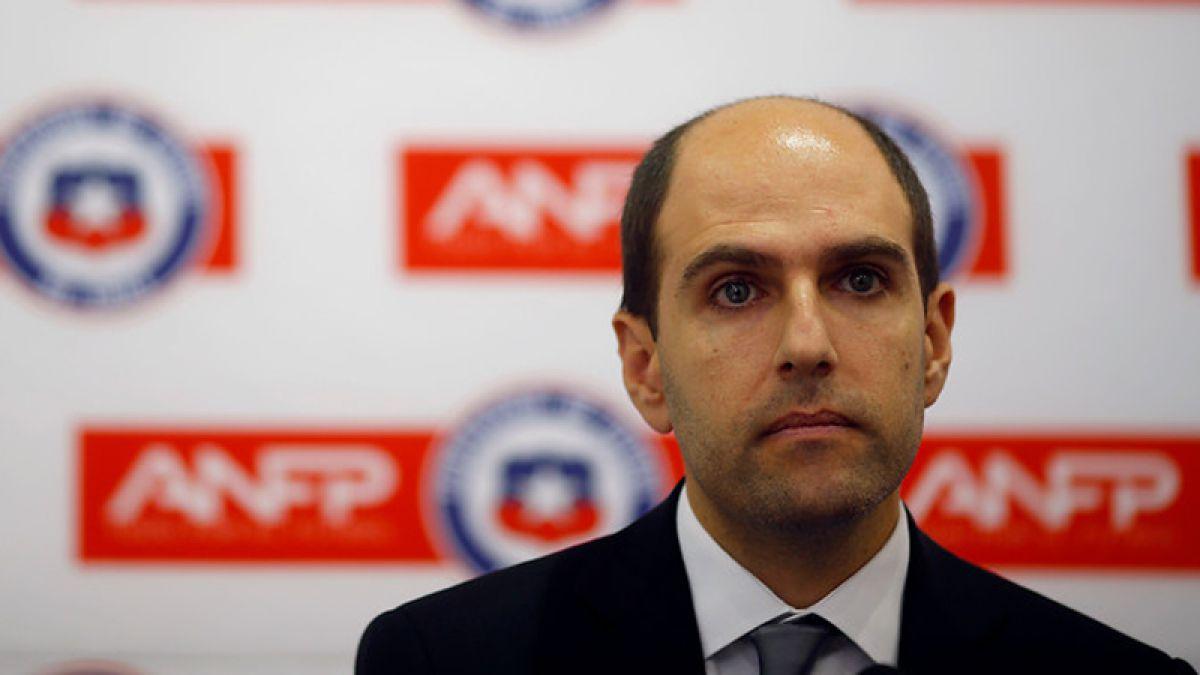 ANFP denuncia a Sergio Jadue: Solicitan sanción de por vida