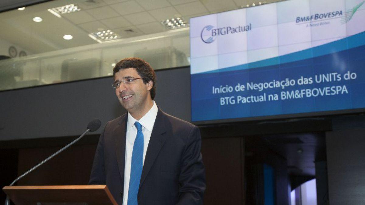 Banco Central de Brasil aprobó cambio de control de BTG Pactual