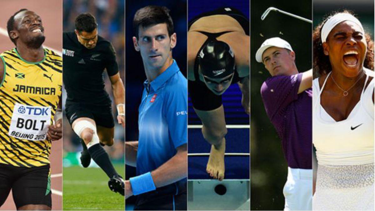¿Quién fue el mejor deportista del mundo en 2015?