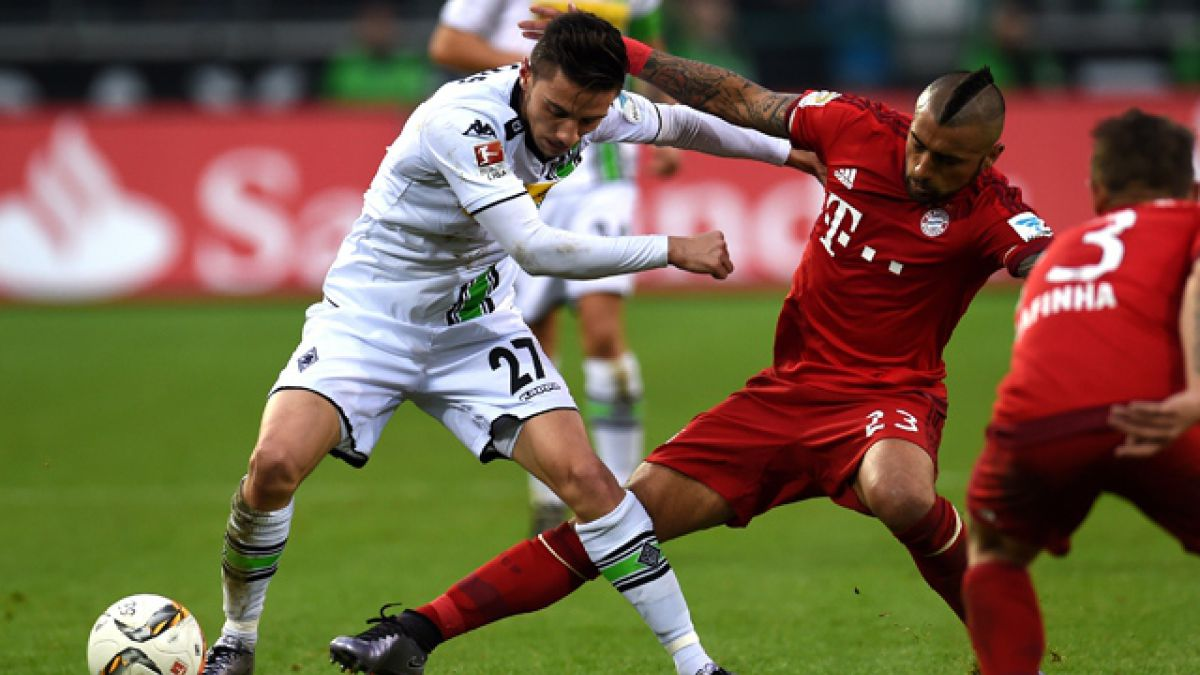 Borussia Monchengladbach vence a Bayern Munich y le arrebata invicto en la Bundesliga