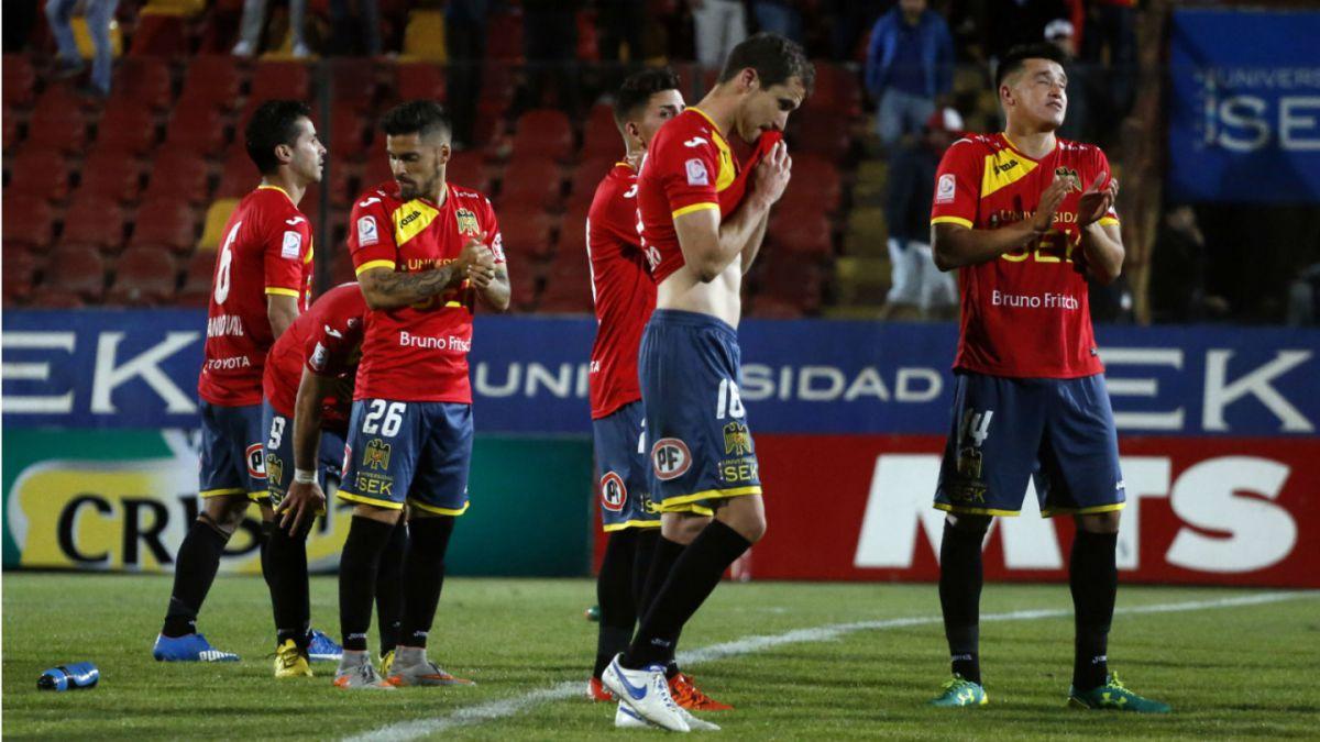 Unión Española pierda ante Cobresal y deja en duda su clasificación a la Liguilla
