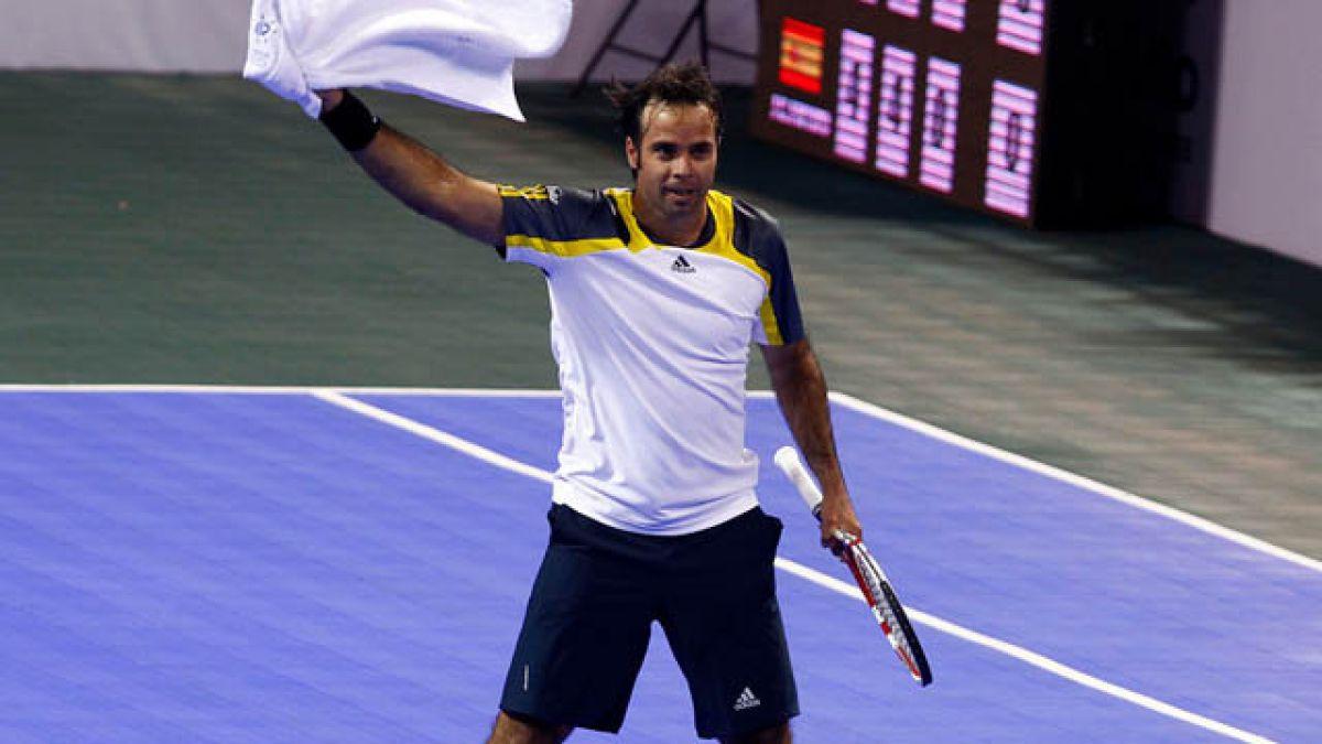 Fernando González retiene el título del Champions Tennis de Londres