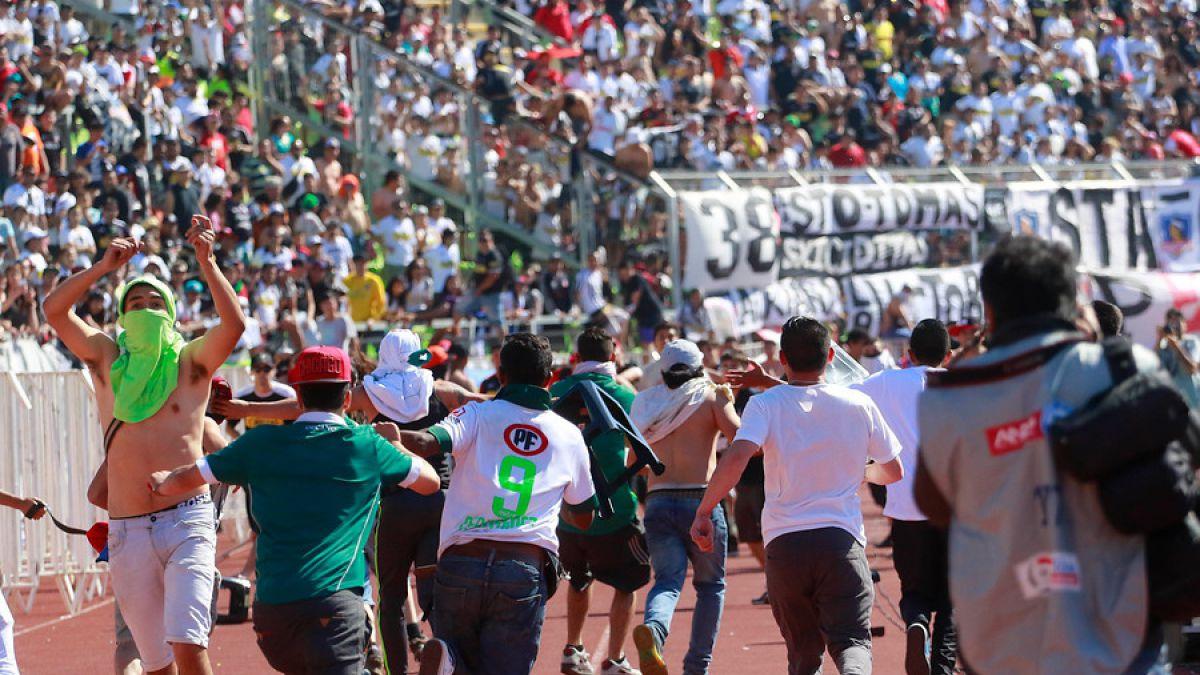 Colo Colo,  Wanderers y la UC sancionados por incidentes del Apertura