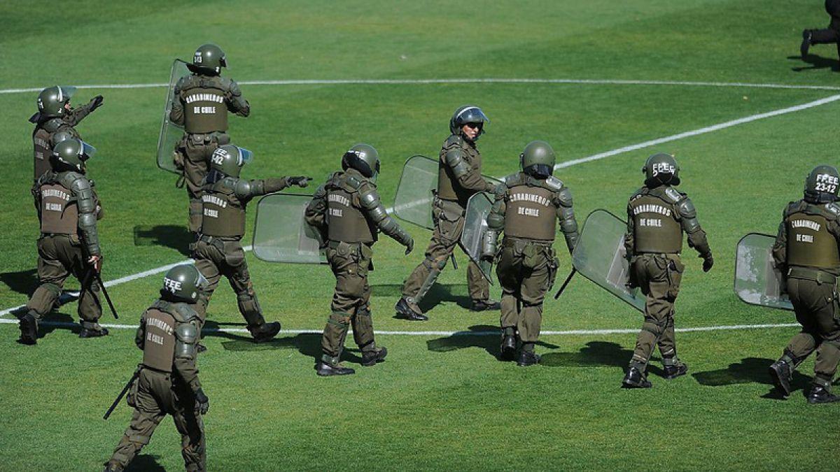 Carabineros solicitó que el partido entre Colo Colo y Santiago Wanderers no se jugara el domingo