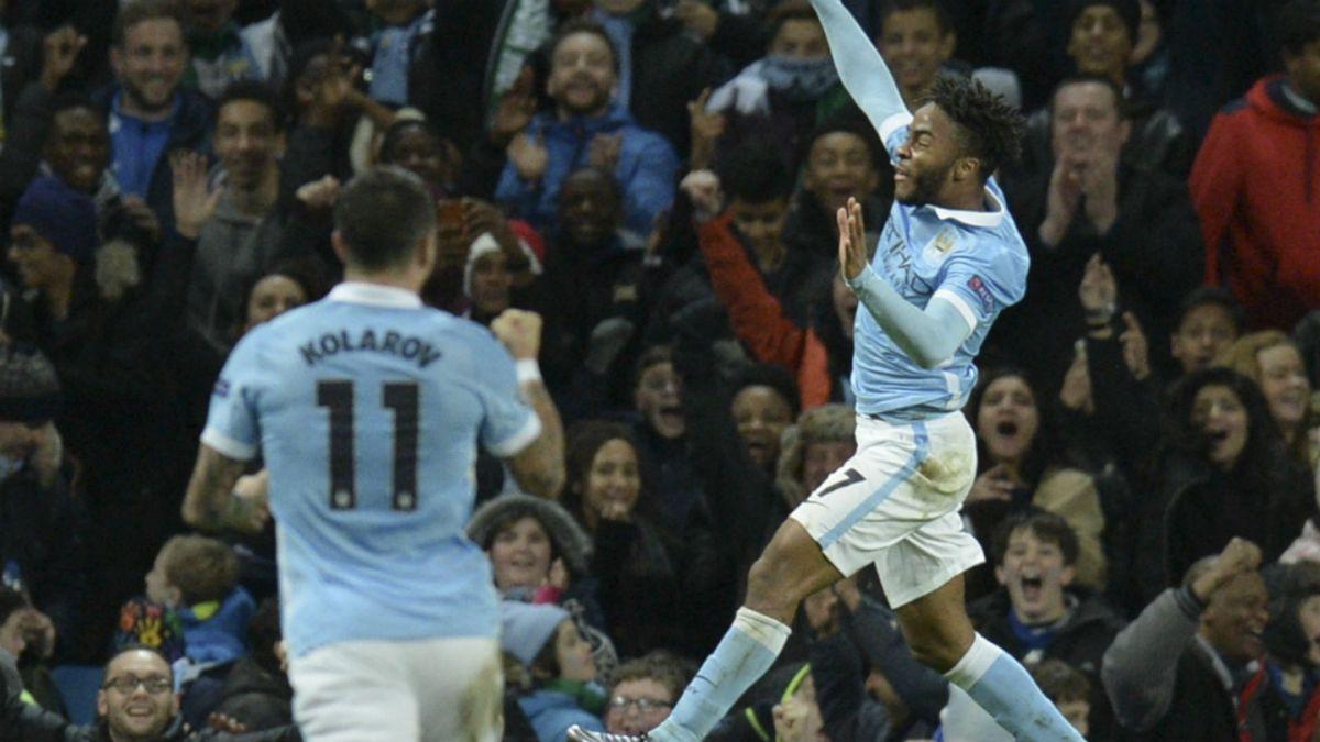 Manchester City remonta frente al Mönchengladbach y finaliza como líder de su grupo en Champions