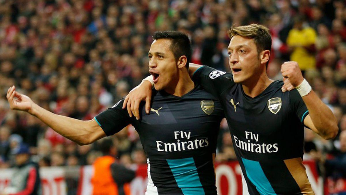 Arsenal sin Alexis buscará la clasificación a los octavos de la Champions League