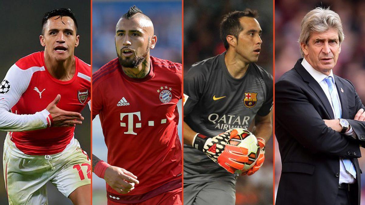 ¿A qué equipos podrían enfrentar Alexis, Vidal, Bravo y Pellegrini en octavos de Champions?
