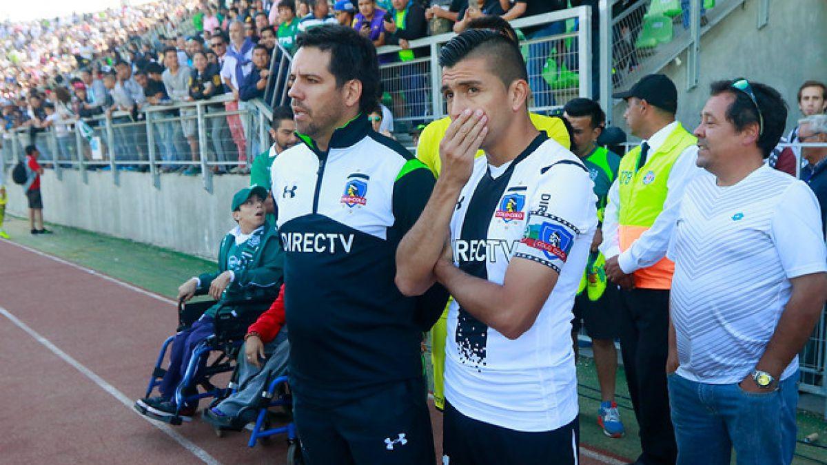 Colo Colo suspende entrenamientos por mala condición del aire