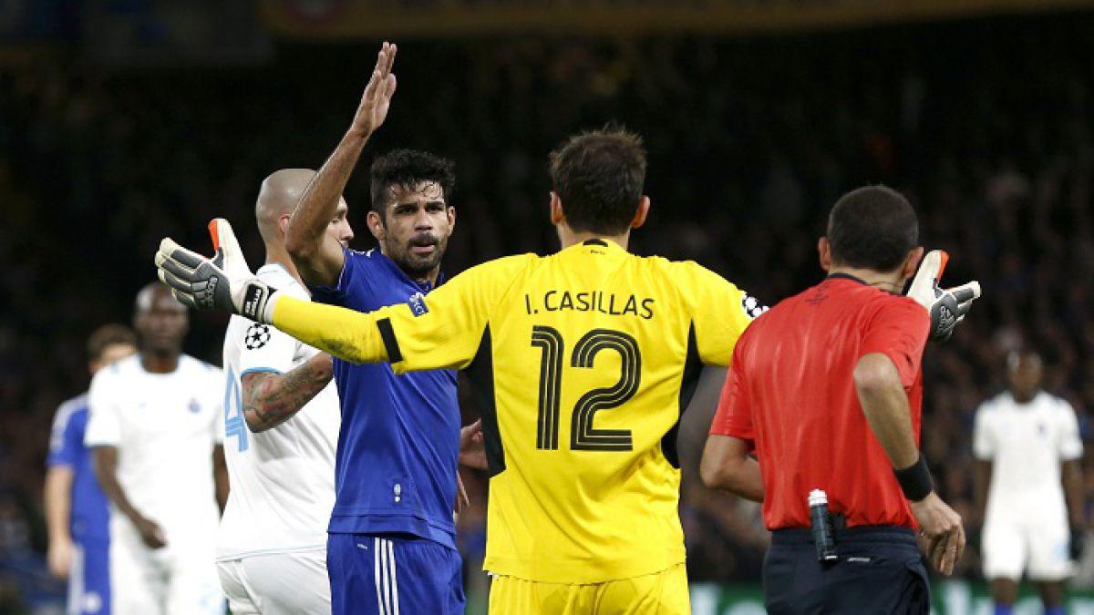 [VIDEO] La dura discusión de Iker Casillas con Diego Costa que casi termina a los golpes
