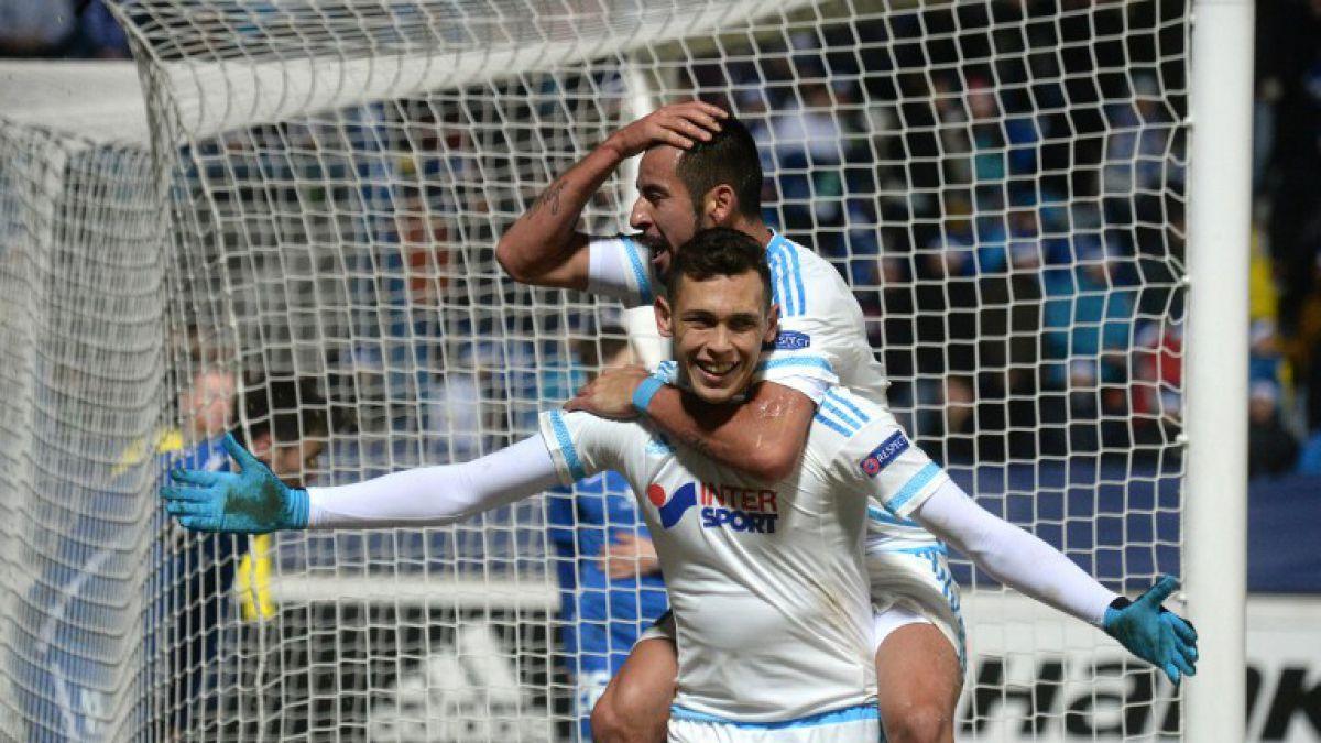 Isla junto a Marsella triunfa y clasifica a dieciseisavos de final de la Europa League