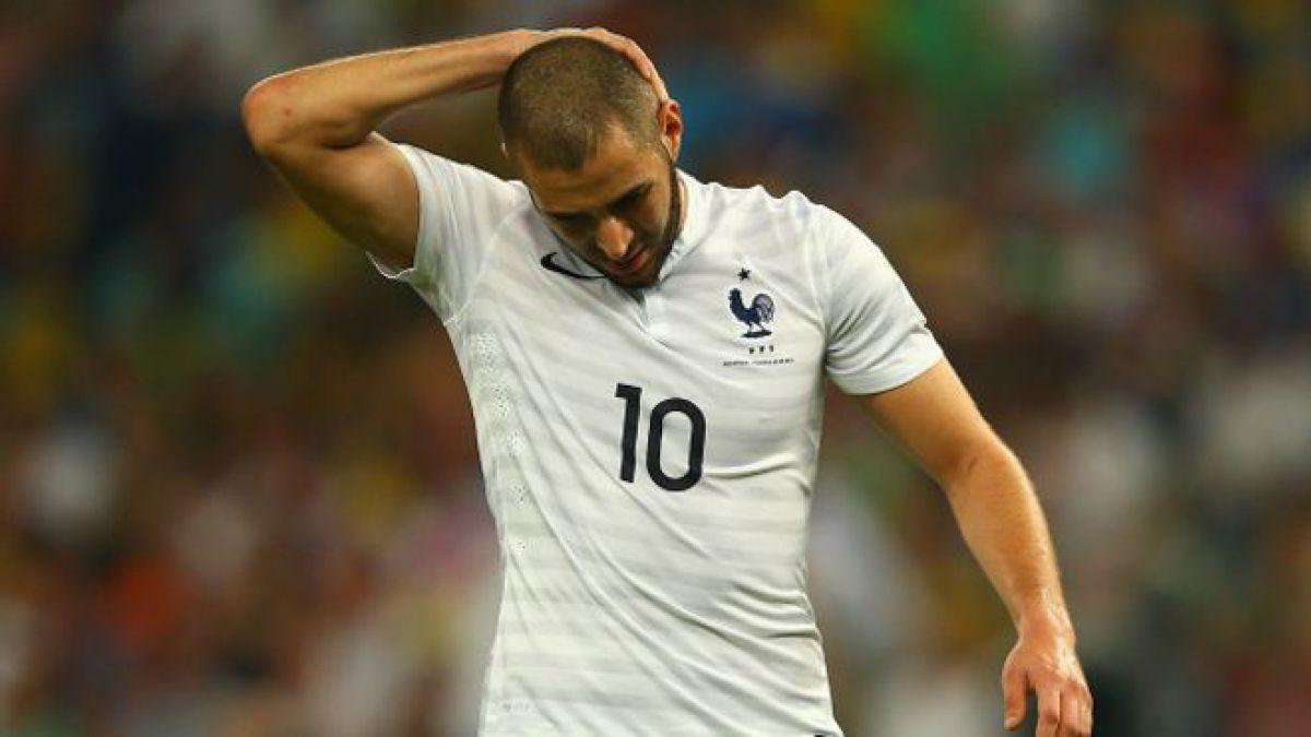 Benzema niega que haya participado en el supuesto chantaje sexual a su compañero de selección, Mathieu Valbuena.