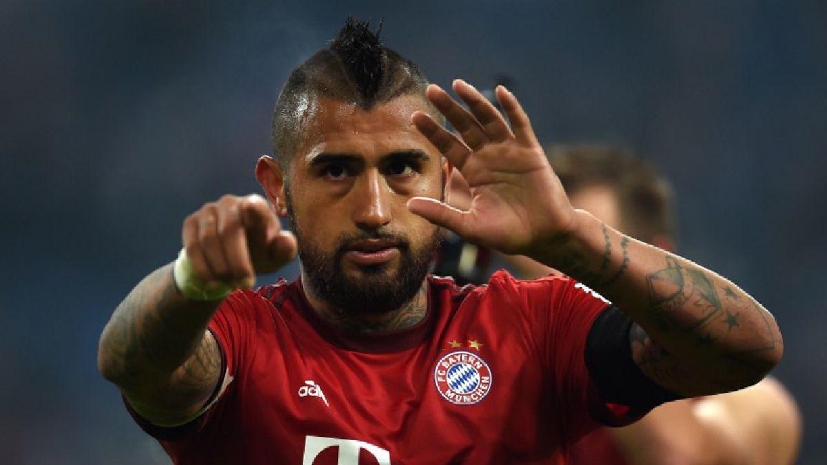 Vidal jugó 51 minutos en el triunfo del Bayern Munich en Alemania