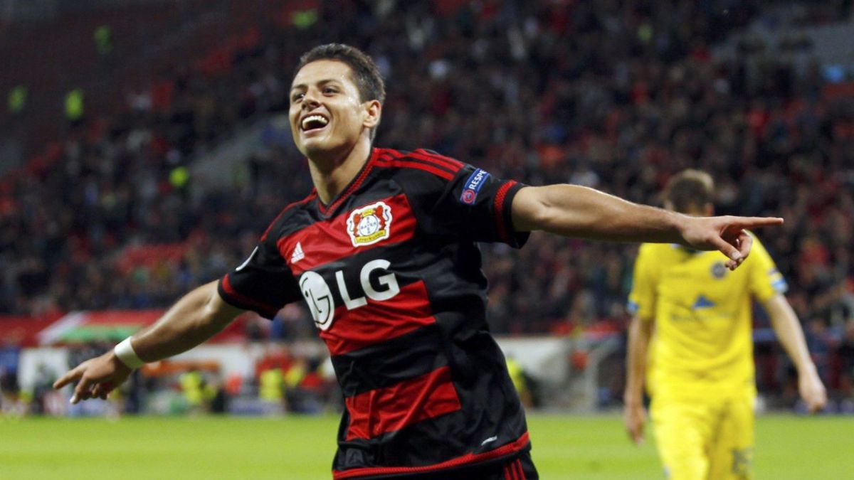 ¿Chicharito? ¡Fenomenal!