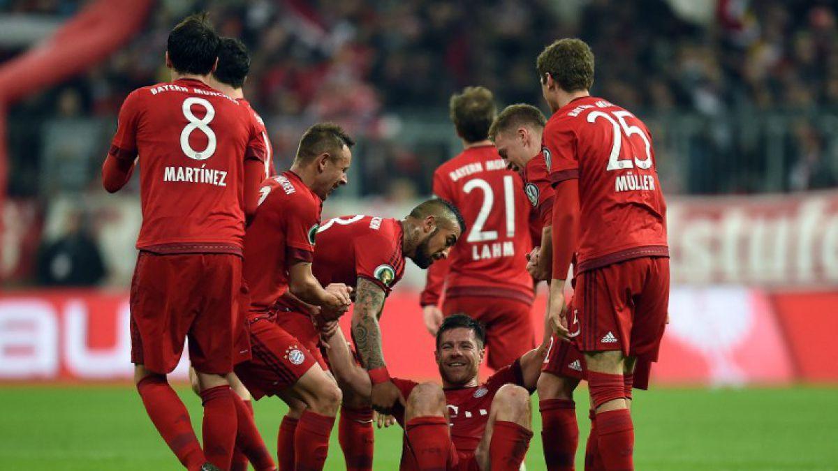 Vidal sigue festejando: Avanza con el Bayern a cuartos de la Copa de Alemania