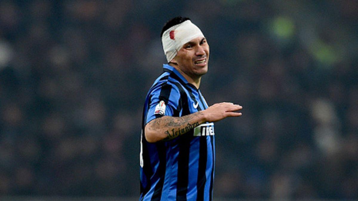 """En Italia utilizan a Gary Medel como ejemplo y apuntan que """"escupe sangre"""""""