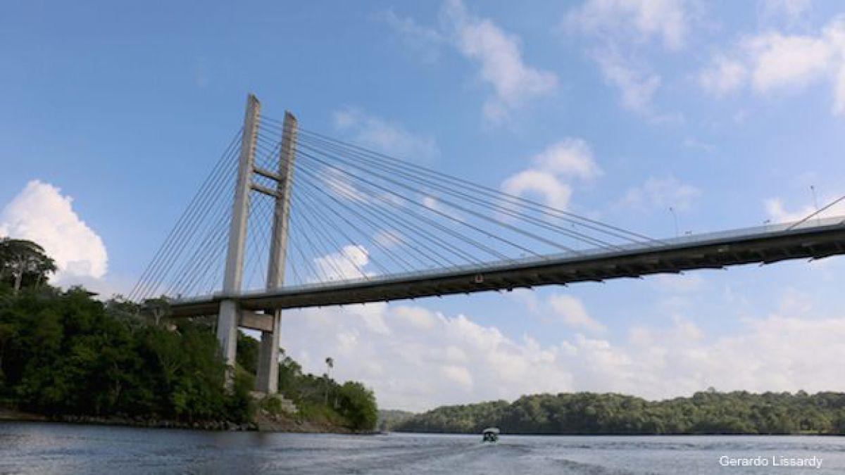 El puente entre Brasil y Guyana Francesa que nadie ha cruzado   Tele 13