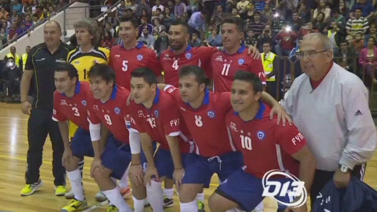 [VIDEO] Así fue el showbol a beneficio de Pablo Otárola